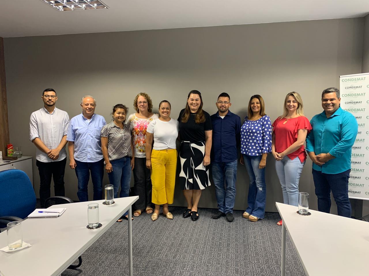 Conselho dos Fundos Sociais do CONDEMAT tem nova coordenação e planeja ações para o ano