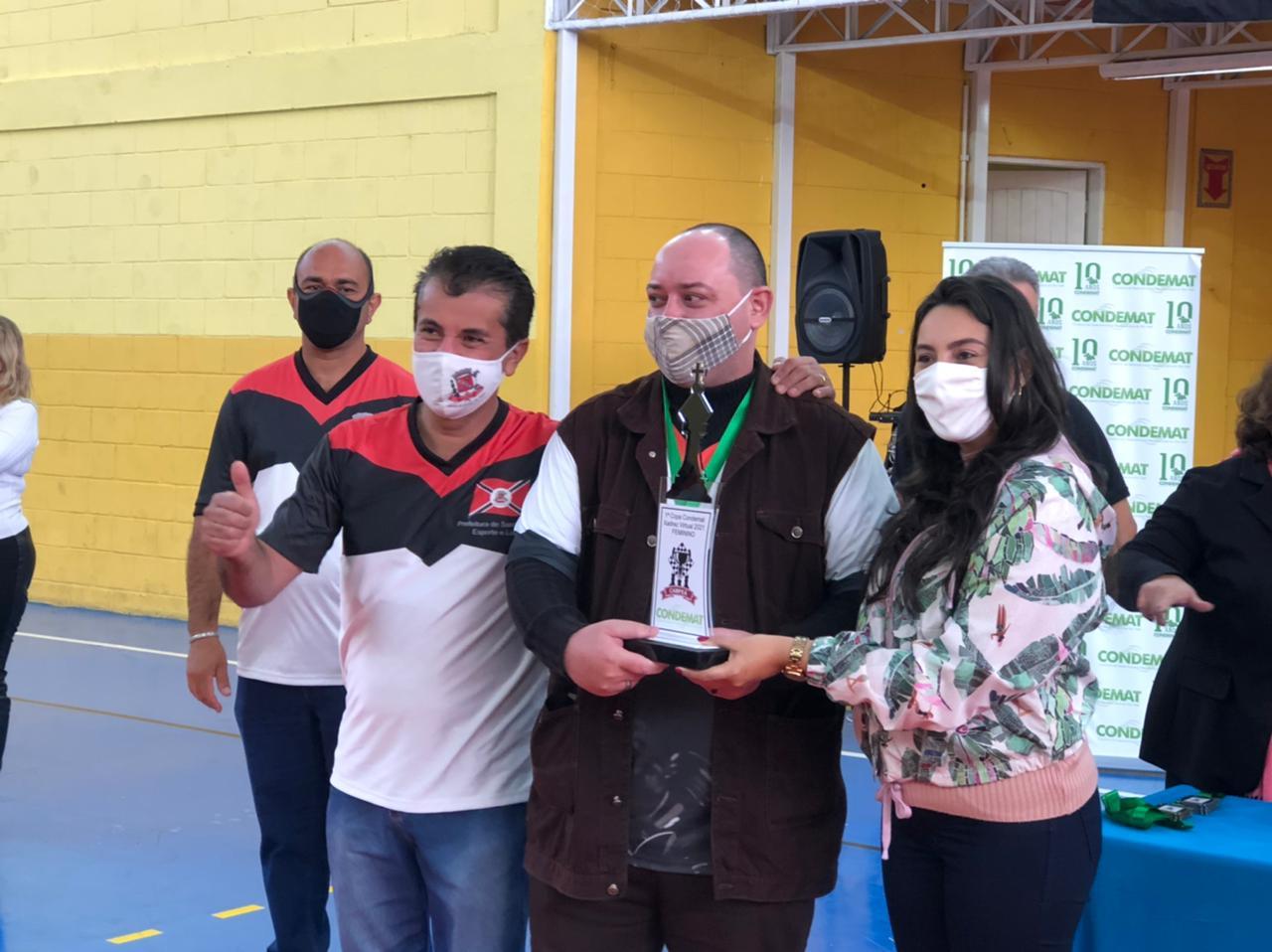 Read more about the article Santa Isabel vence a 1ª Copa de Xadrez do CONDEMAT